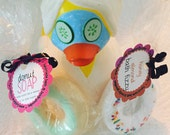 """Custom listing for """"Eulalie and Janice"""" - donut soaps"""