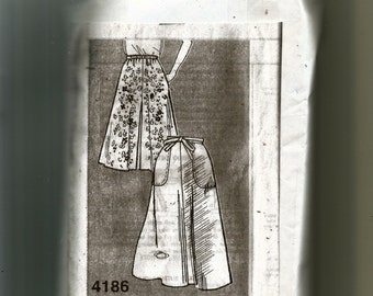 Skirt and Culottes Pattern 4186