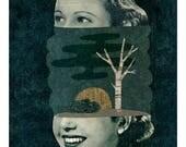 Interior portrait / Fine Art Print / Impression papier d'art / A3 A4 A5