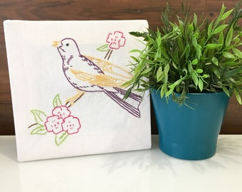 Birds of a Feather Wall Hanging - Flower