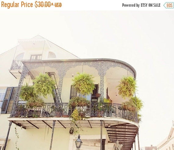 Cyber Monday Sale New Orleans Art French Quarter By