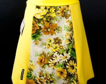Floral Couch Print Skirt A-Line   Multiple Sizes