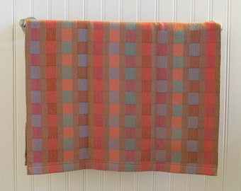 Stripes and Checks 100% Cotton Handwoven Dish Towel