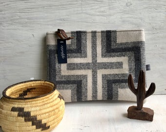 Wool Clutch—San Marcos Pattern