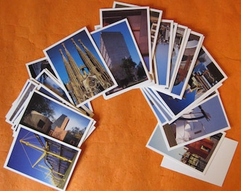 Architects Trading Cards: Buildings