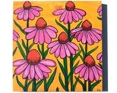 Coneflower Painting - Ori...