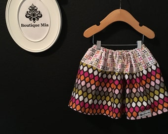 BUY 2 get 1 FREE - Skirt - Fall Jewel Colors - Pick the size Newborn up to 14 Years by Boutique Mia