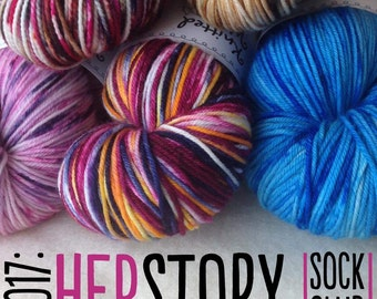 Her*Story Sock Yarn Club