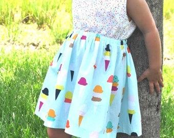 Boardwalk Delight Junie Dress - Sizes 18 Month -  6T