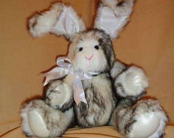 22 Inch Fur Bunny