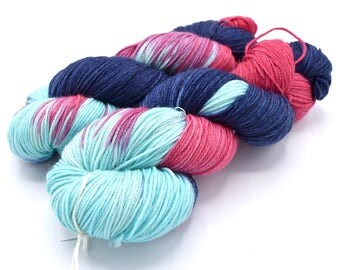 Lucy Variegated - Hand Dyed Yarn - Dyed to Order
