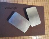 Belt Buckle Blanks  Bead Leather 2 Buckles