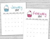 2017 Calendar, Printable ...