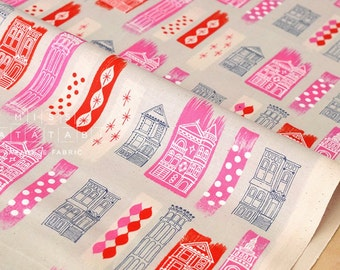 Cotton + Steel Jubilee - in the city - pink - 50cm
