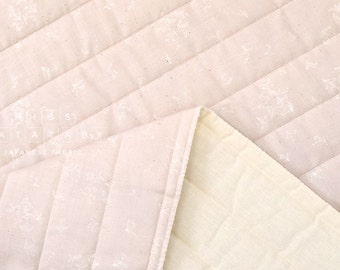 Japanese Fabric Nani Iro suzuran field quilted double gauze - Lille - 50cm