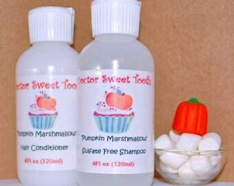 PUMPKIN MARSHMALLOW Argan Oil Shampoo & Conditioner Set (Sulfate and Paraben Free)