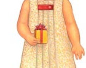 20% Off! Oliver and S PATTERN - Birthday Party Dress - Size 4 to 8