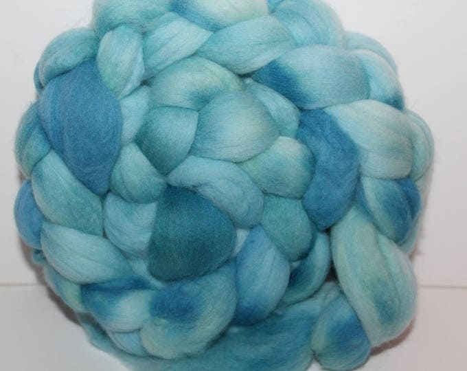 Kettle Dyed Super fine Merino Wool Top.  Soft and easy to spin. 4oz  Braid. Spin. Felt. Roving. M83