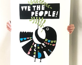 We The People!: March Print of the Month
