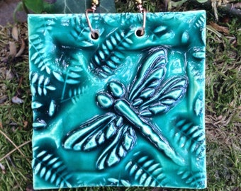 Miniature Dragonfly Tile