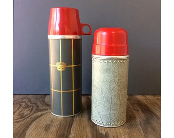 1950s Thermos with Red Cap