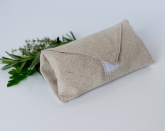 Hemp Wrap for Wraps/Sandwiches/Burritos --you choose the fabric--FREE SHIPPING