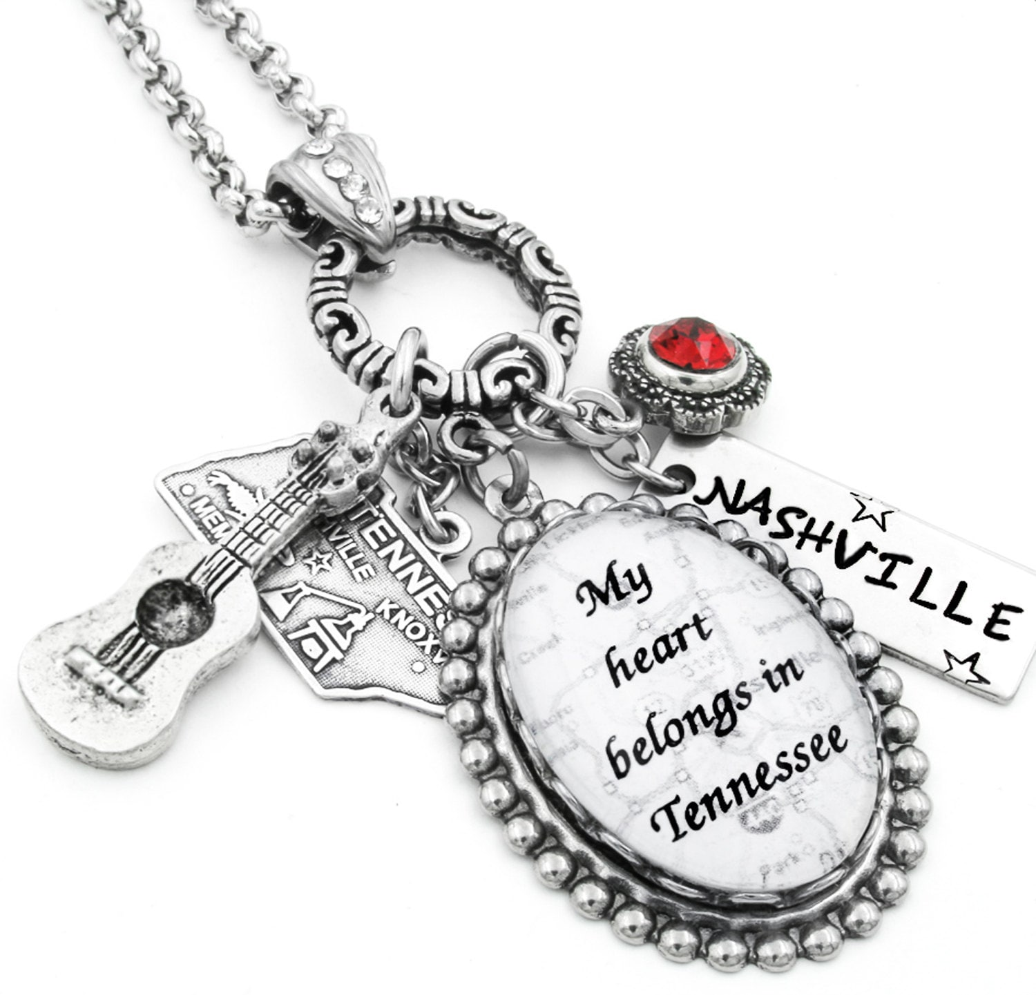 state jewelry personalized state necklace by blackberrydesigns