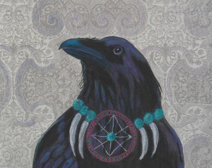 Raven Warrior original art