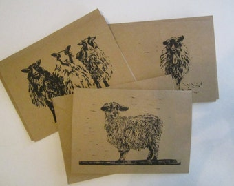 Barnyard Series Note Card Set of 3