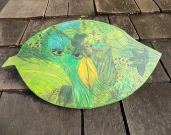 Green Spirit Toy Wooden Shield