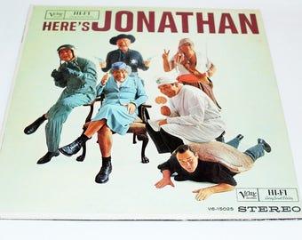 Jonathan Winters Heres Jonathan NEAR MINT Verve Vinyl LP 1961