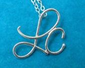 RESERVED for Morgan Sterling Silver Jerusalem Cross Pendant Necklaces