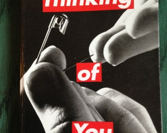 Barbara Kruger Thinking of You Book