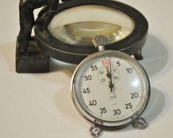 Vintage Stop Watch  Coach Woods Elgin Stop Watch  Vintage Coach's Stop Watch  Works and Runs Well