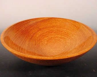 Afzelia Turned Wood Bowl Number 6398 by Bryan Tyler Nelson