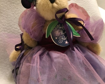 "Muffy Vanderbear ""Plum Fairy Collection"""