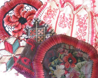 Rag Bag Girls Unite...Antique Victorian Knitting & Crochet