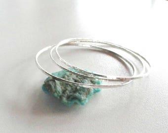 Sterling silver bangle bracelet,sterling silver bangels,bangels,2mm hammered 925 sterling silver,hammered silver bracelet,silver bangles