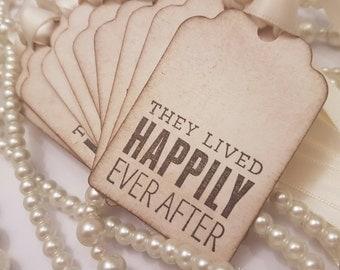Wedding Favor Tags, Ivory Wedding Favours, Happily Every After, Jam Jar Labels, Wine Bottle Labels, Tea Favours, Alcohol Favours