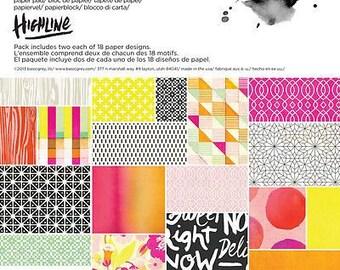 Basic Grey Highline 6x6 Paper Pad
