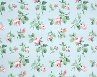 Vintage wallpaper flowers  Vintage Wallpaper Heaven by HannahsTreasures on Etsy