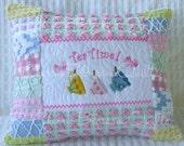 "Custom Order For Sharon for One 12""x16"" Tea Time Pillow Cover"