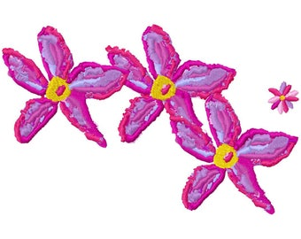 Art Flowers Large Machine Embroidery Design by Letzrock  3117