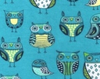 NATURE OWL Owls Birds Flannel Pajama/Lounge Pants  Available in children's sizes 0-3 months to 10