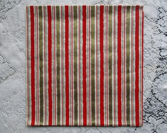 Vintage 1950's NOS Christmas Wrapping Paper - Candy Stripes - Striped