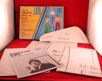 Vintage Magic-Fit AFI Designing by Dusan Master Pattern for Pants in Original Box