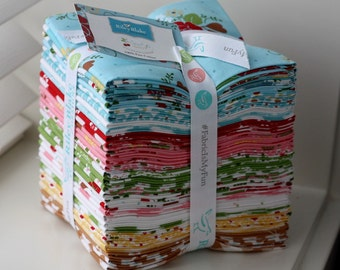 SALE 30 Fat Quarters SEW CHERRY 2 bundle from Riley Blake Designs by Lori Holt
