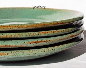 Plates, Dinner plate, Handmade Dinner Plates, Dinnerware, Stoneware Plates, Pottery Plate Set, Pottery plates, Ceramic dinner plates