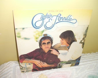 Song of Joy Captain Tennille Vinyl Record Album NEAR MINT condition