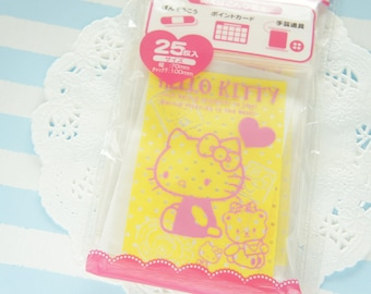 25  Zip Top Baggies / Gift Bags (7cm10cm) Hello Kitty Yellow